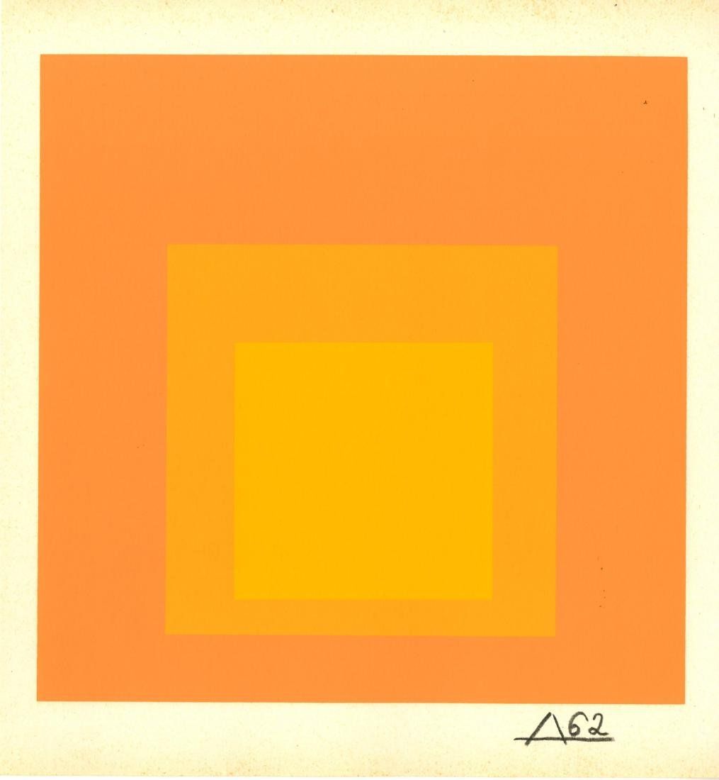 1696: JOSEF ALBERS - Homage to the Square: Tenuous