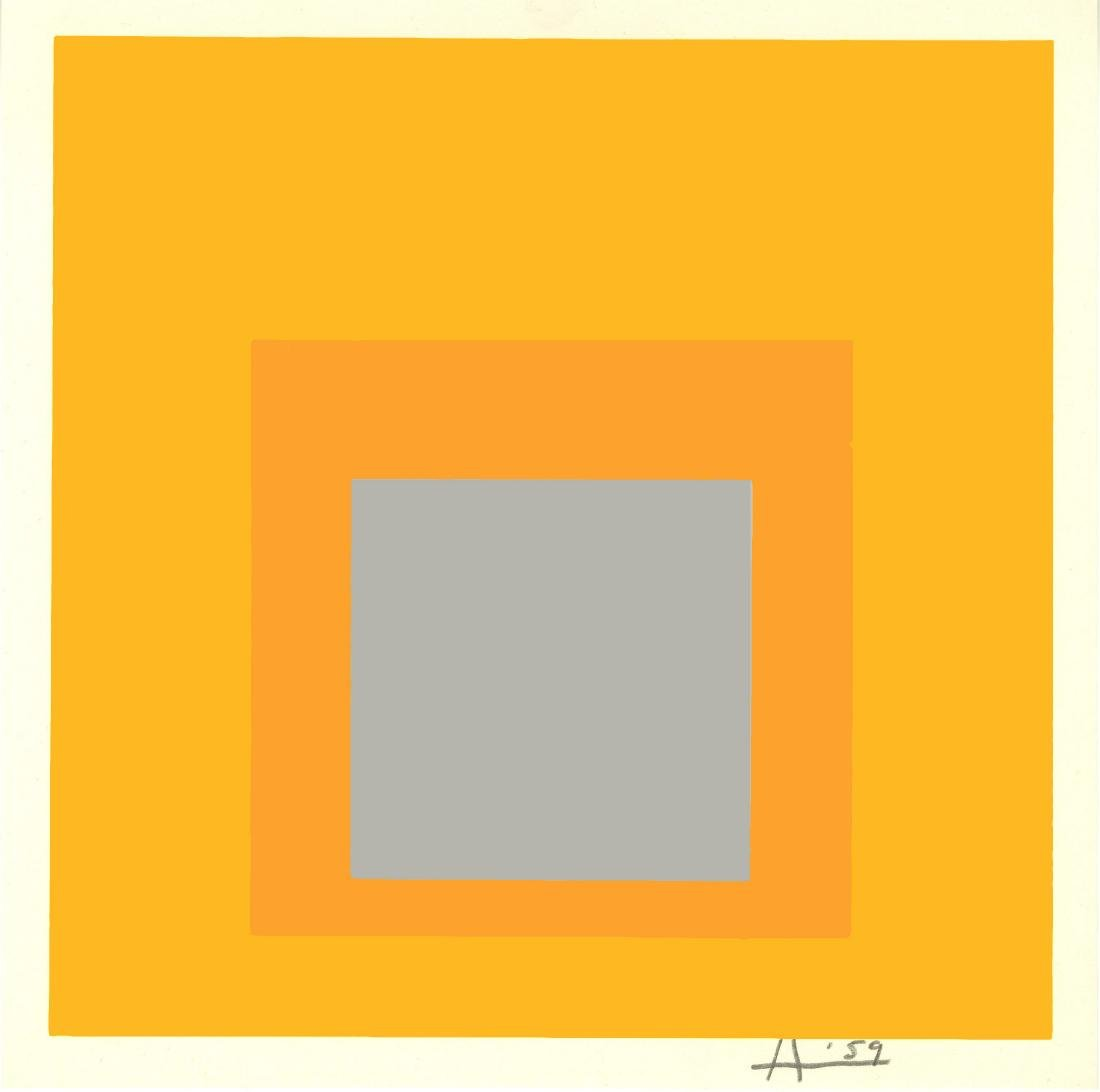 1698: JOSEF ALBERS - Homage to the Square: Selected