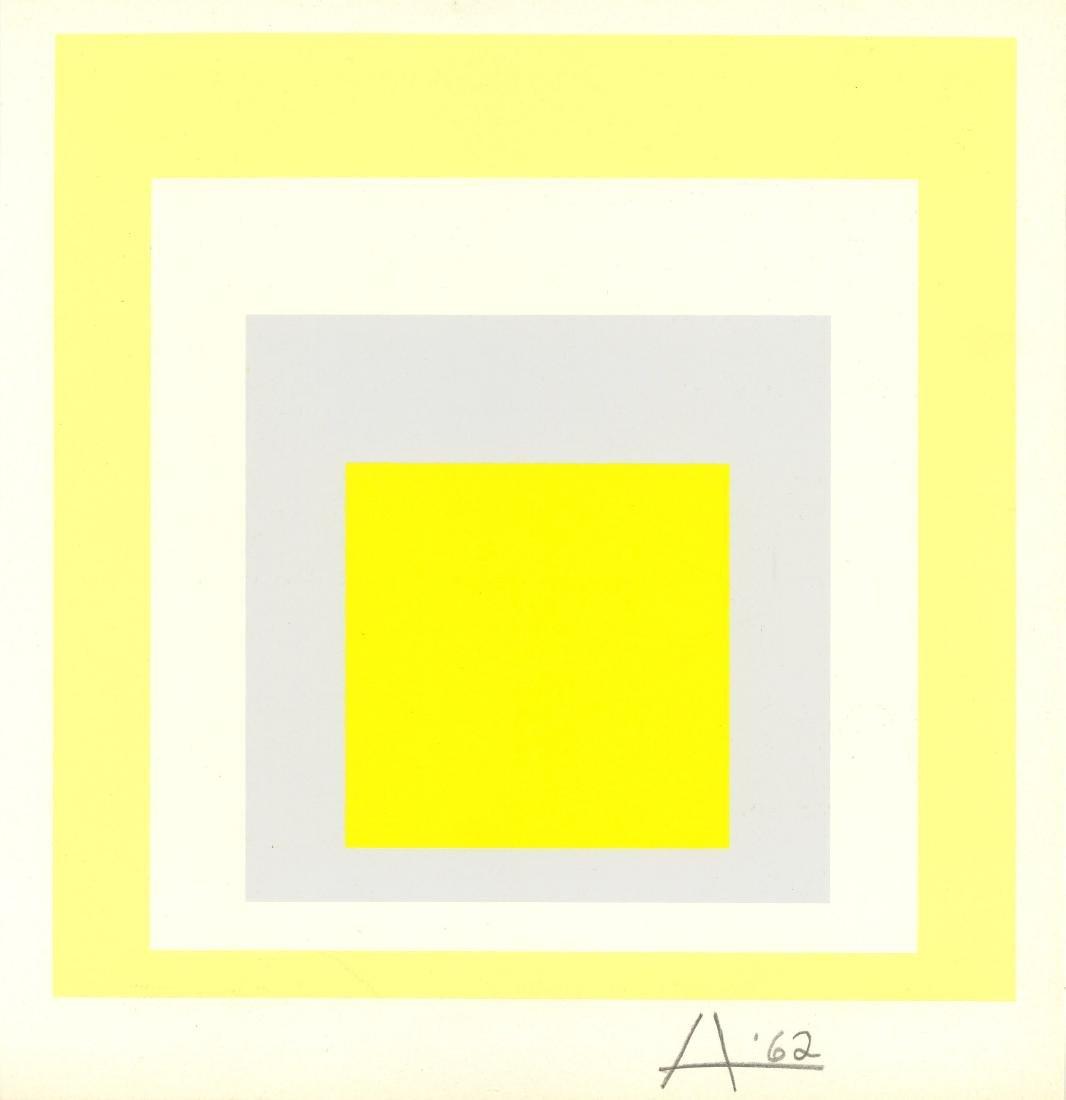 1706: JOSEF ALBERS - Homage to the Square: Joy