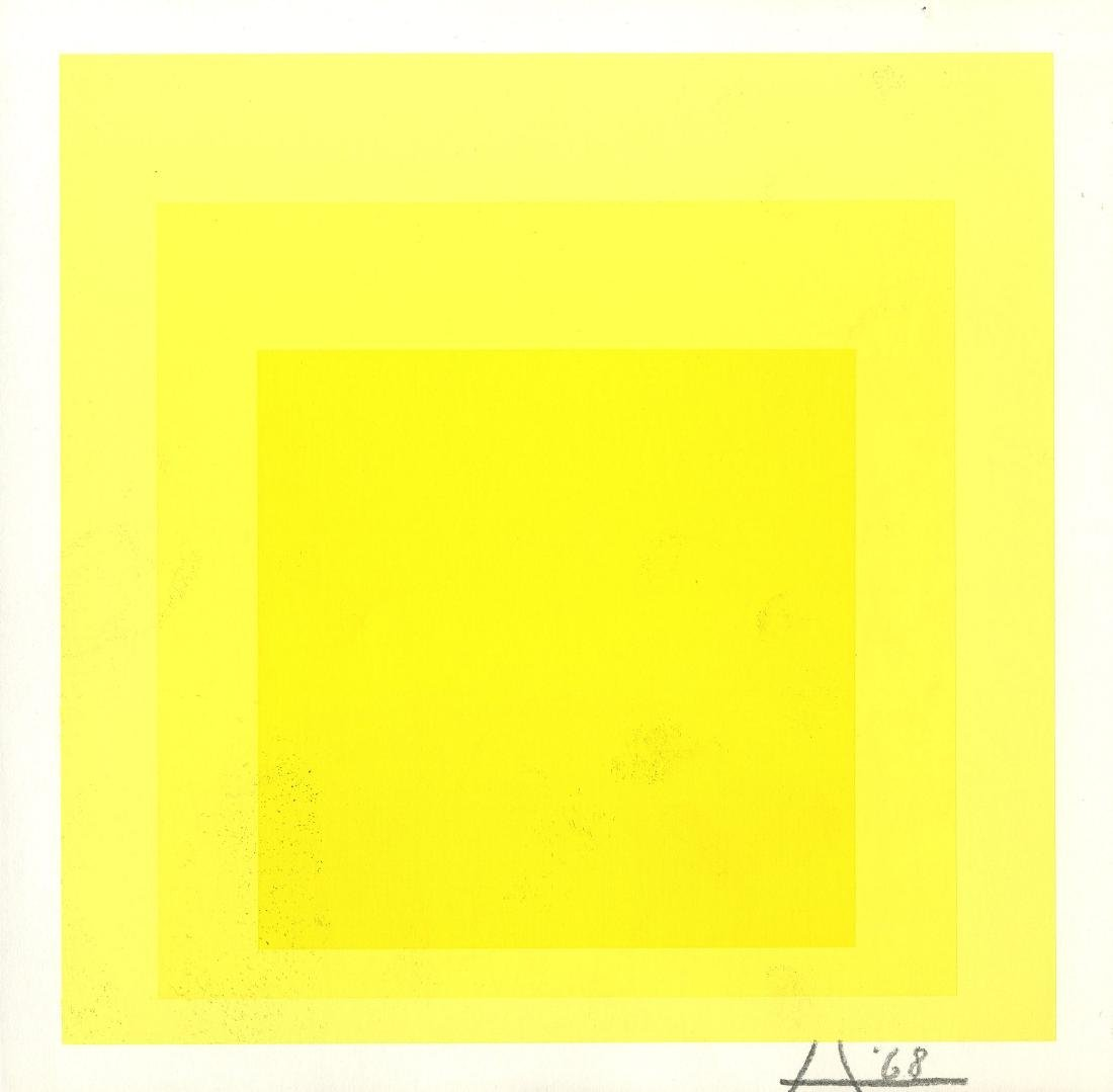 1714: JOSEF ALBERS - Homage to the Square: Between the