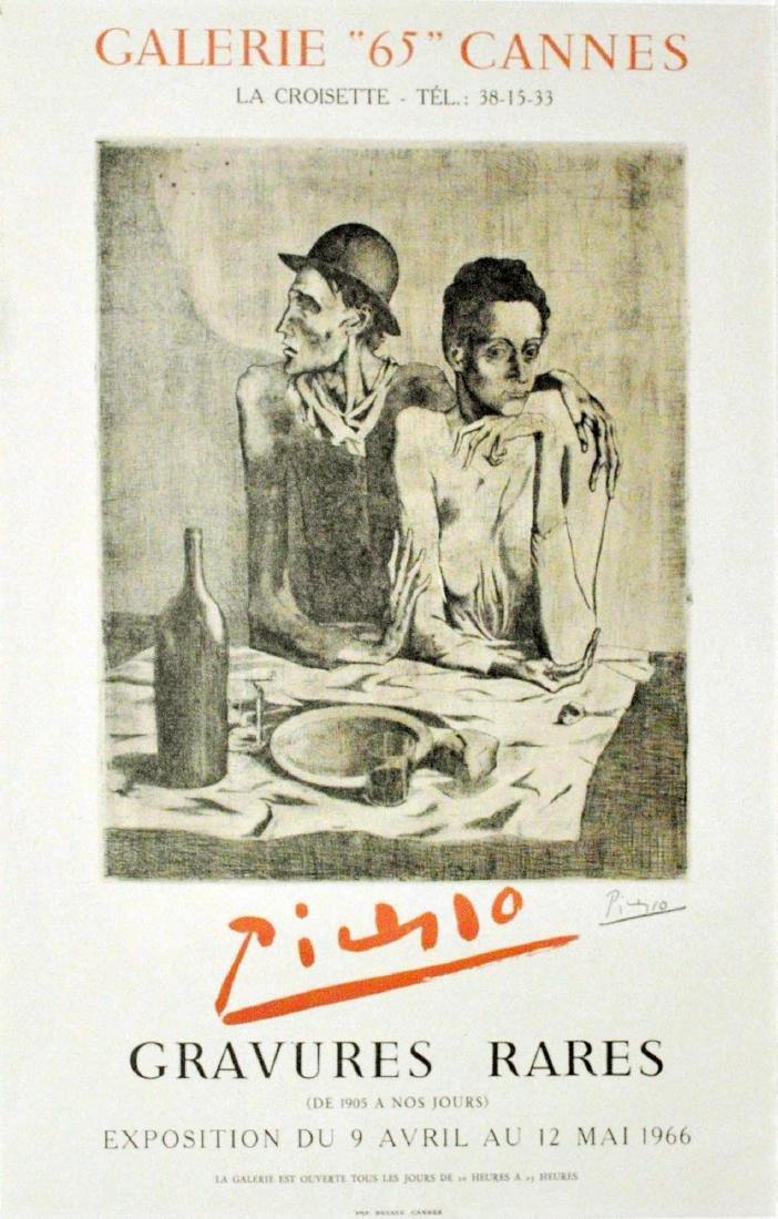 1736: PABLO PICASSO - Gravures rares