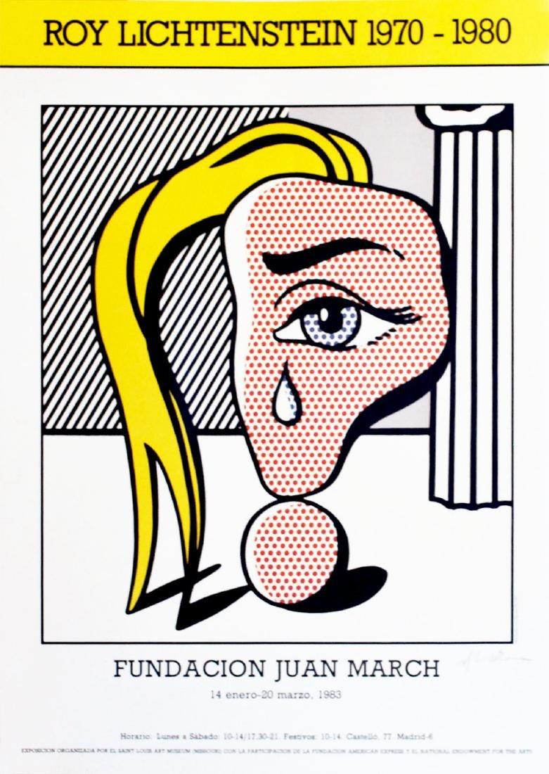 1737: ROY LICHTENSTEIN - Girl with Tear III