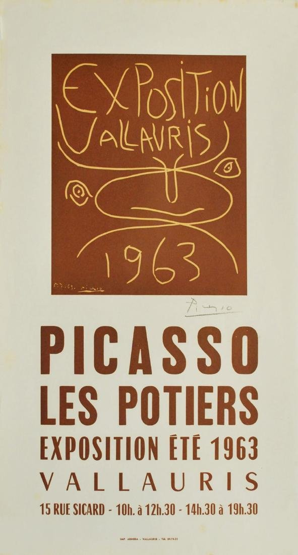 1780: PABLO PICASSO - Exposition Vallauris 1963