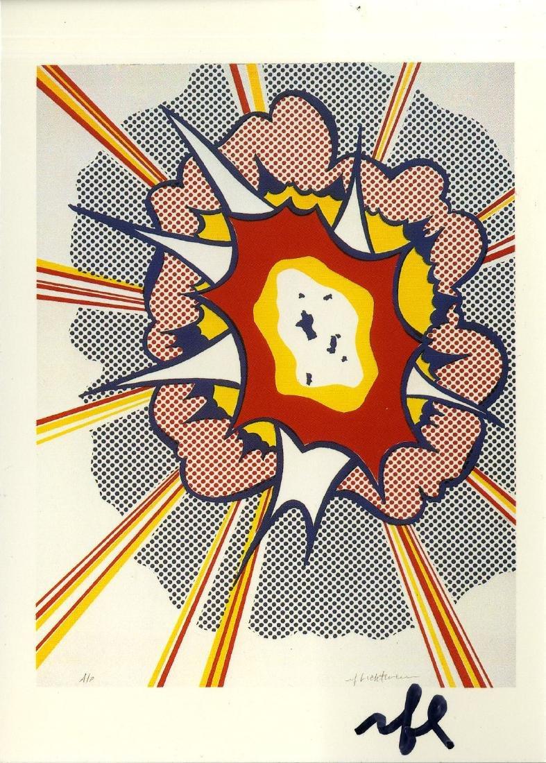 1781: ROY LICHTENSTEIN - Explosion