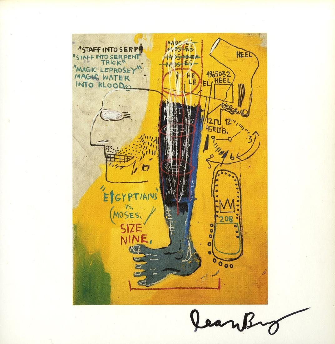 1790: JEAN-MICHEL BASQUIAT - Early Moses