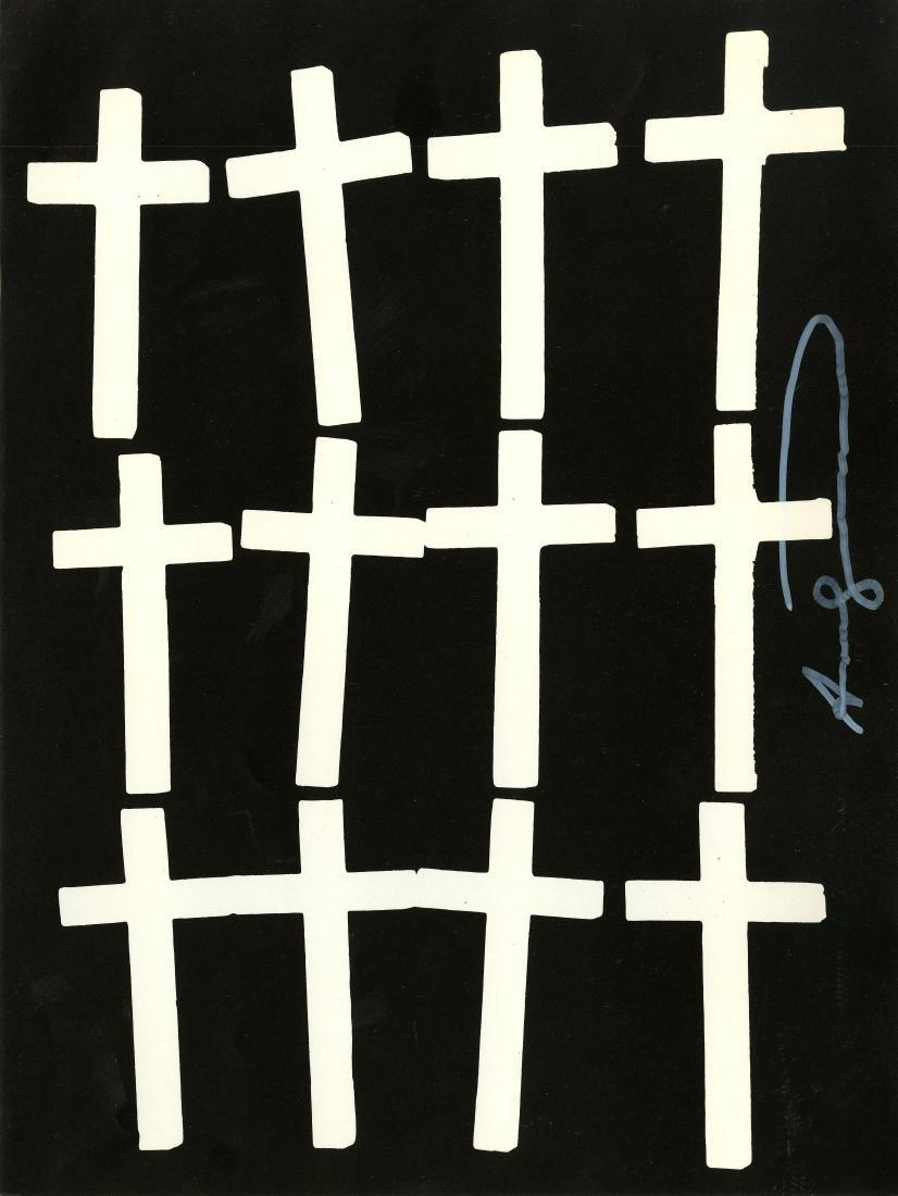 1810: ANDY WARHOL - Crosses #1