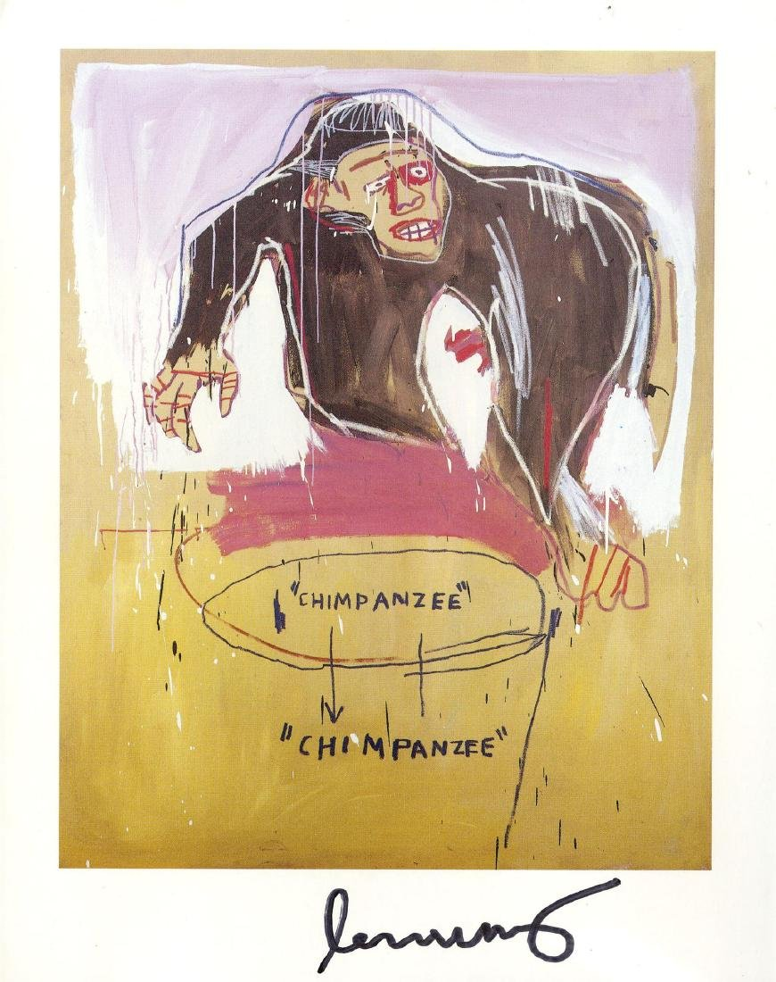 1844: JEAN-MICHEL BASQUIAT - Chimp
