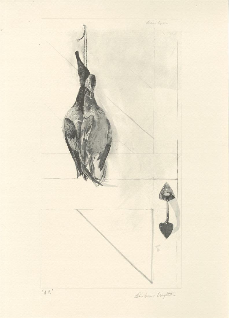 1855: ANDREW WYETH - Canvasbacks
