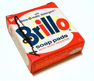 1868: ANDY WARHOL - Brillo Box #1