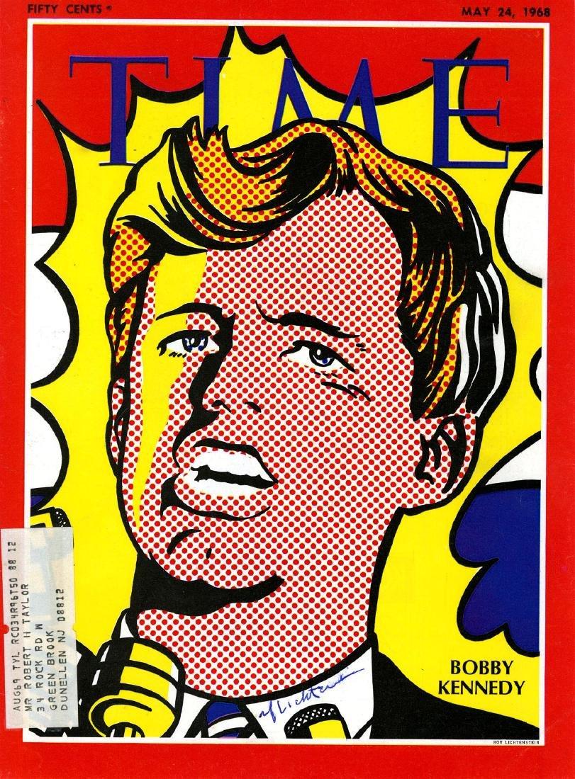 1874: ROY LICHTENSTEIN - Bobby Kennedy