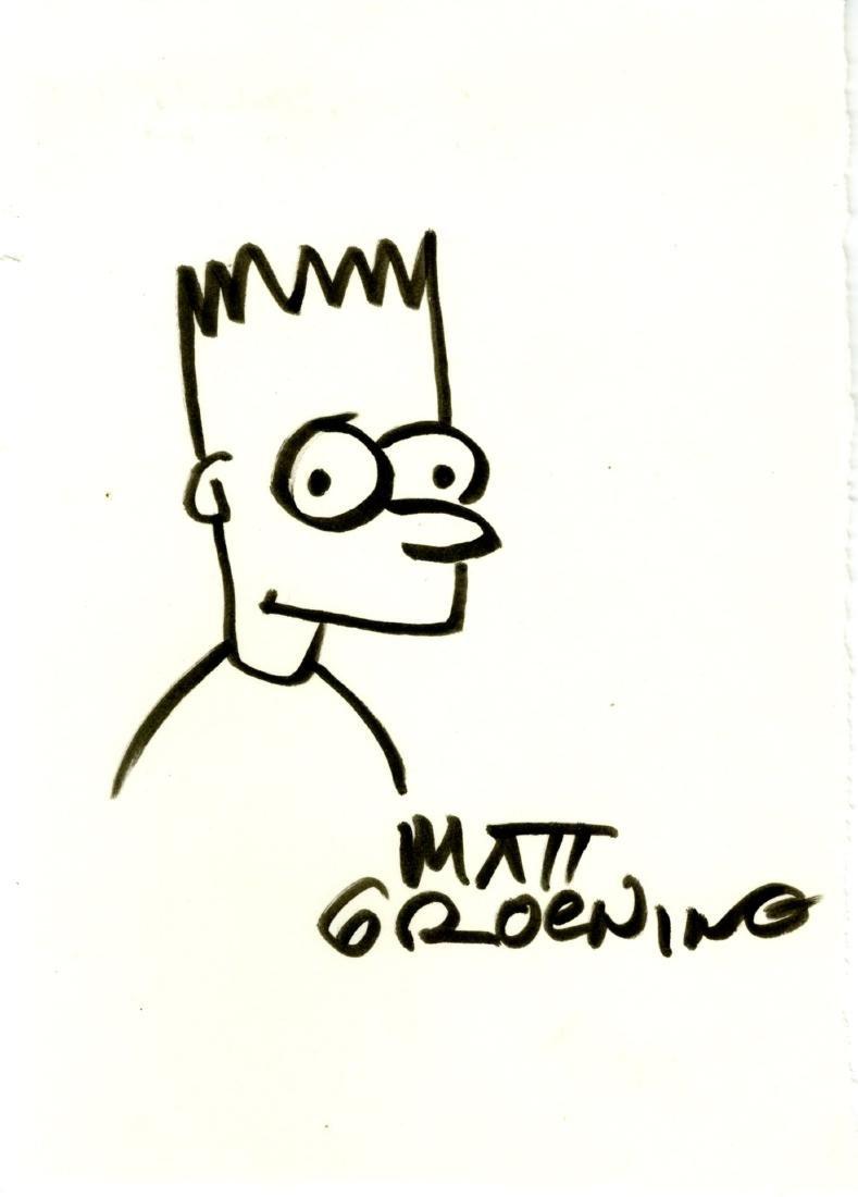 1885: MATT GROENING - Bart Simpson #2