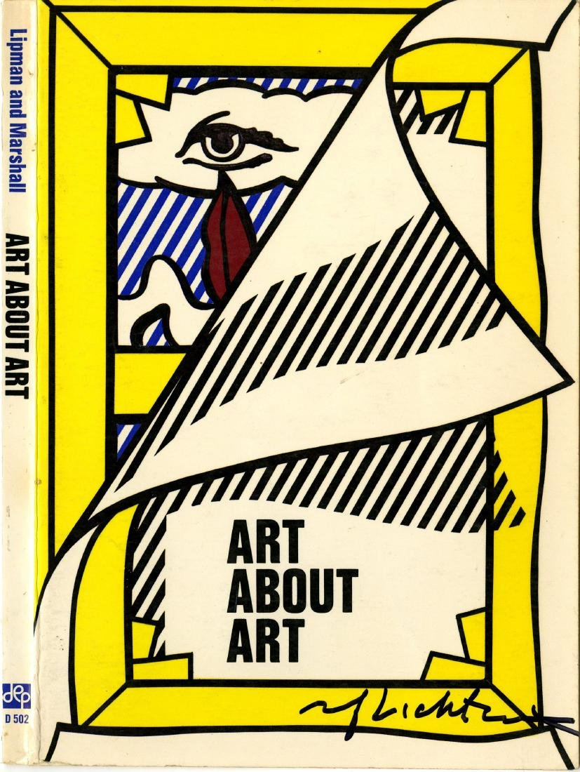 1898: ROY LICHTENSTEIN - Art about Art