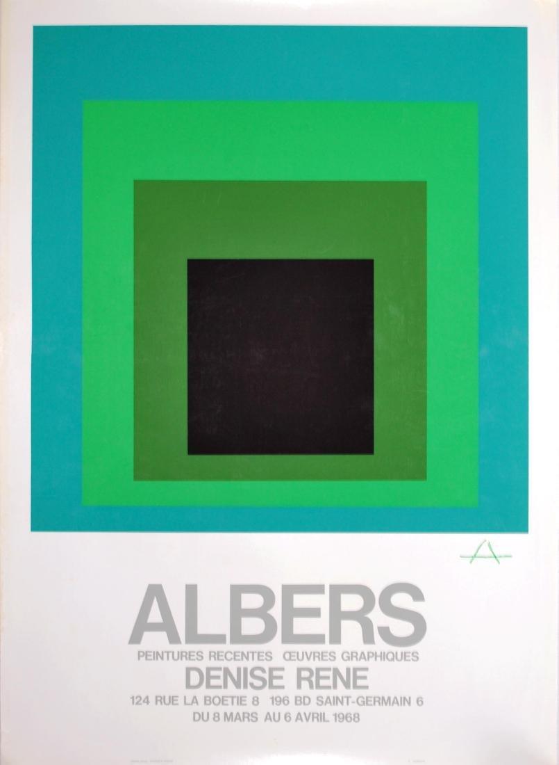 1913: JOSEF ALBERS - Albers: Peintures Recentes -