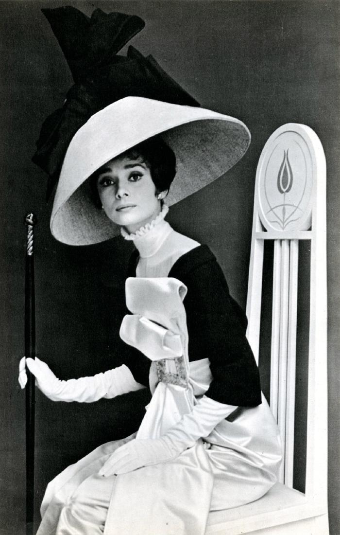 43: CECIL BEATON - Audrey Hepburn in 'My Fair Lady' #2
