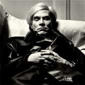 654: HELMUT NEWTON - Andy Warhol, Sleeping
