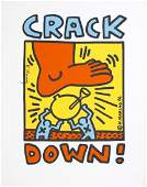 747 KEITH HARING  Crack Down
