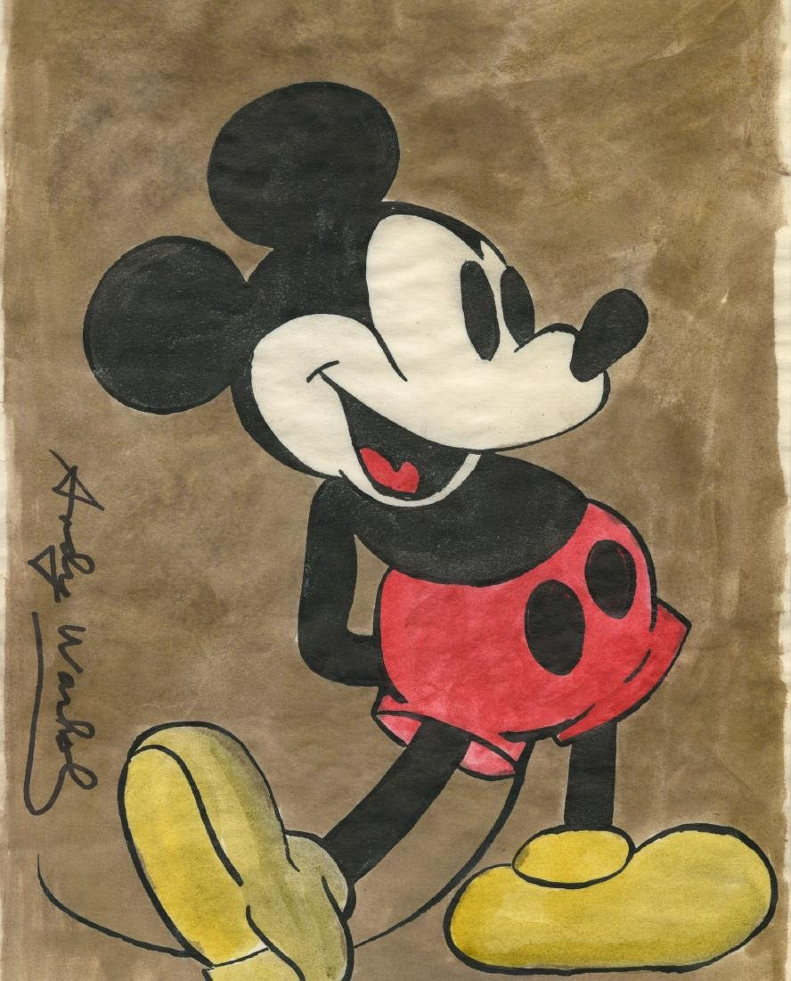 1003: ANDY WARHOL [par/imputee] - Mickey Mouse