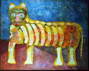 1016: KARIMA MUYAES - Mujer dentro de Felino