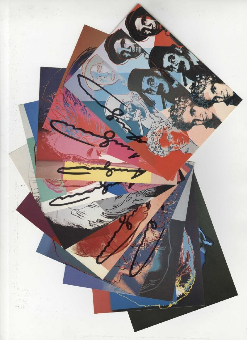 1192: ANDY WARHOL - Ten Portraits of Jews of the