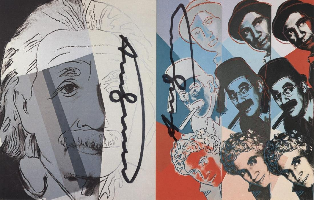 1192: ANDY WARHOL - Ten Portraits of Jews of the - 2