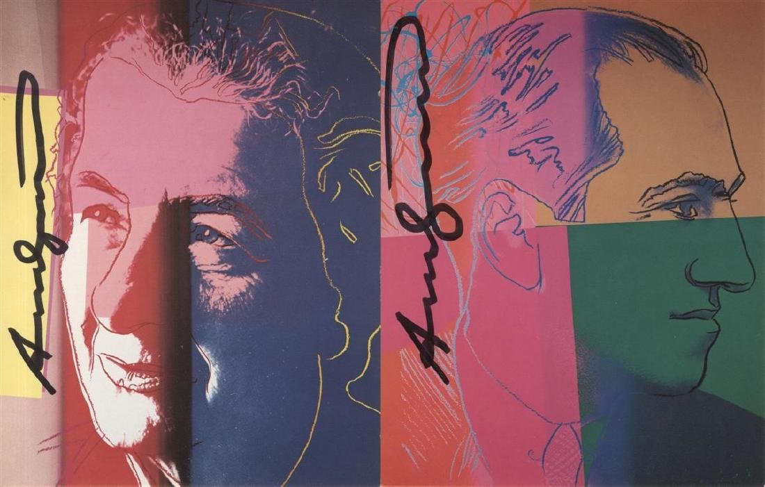 1192: ANDY WARHOL - Ten Portraits of Jews of the - 3