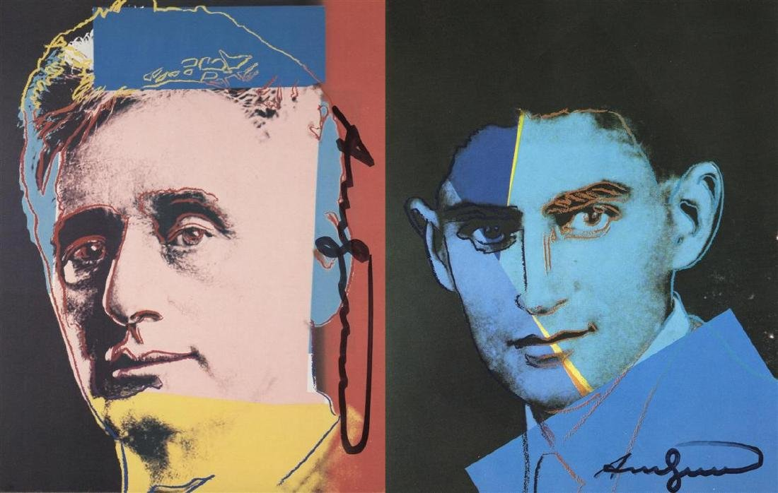 1192: ANDY WARHOL - Ten Portraits of Jews of the - 6