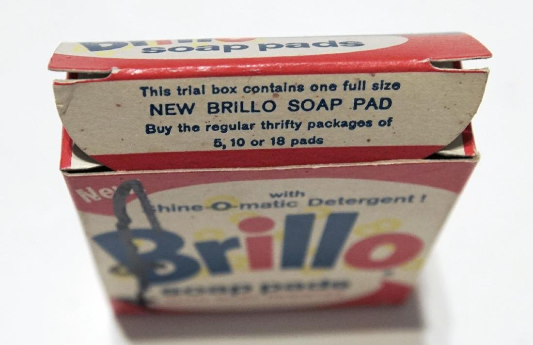 1348: ANDY WARHOL - Brillo Box #1 - 7