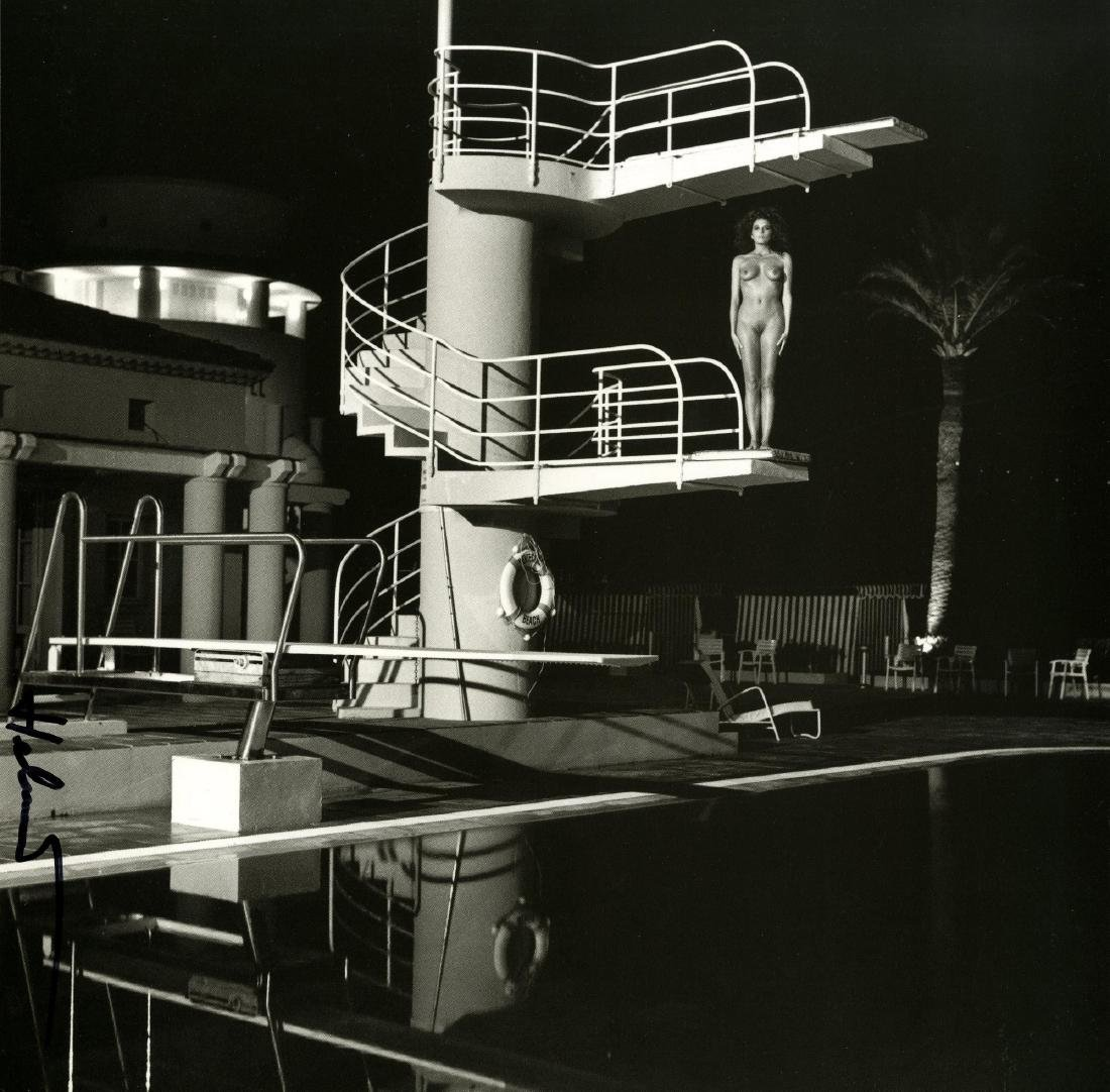 1421: HELMUT NEWTON - Diving Tower, Old Beach Hotel