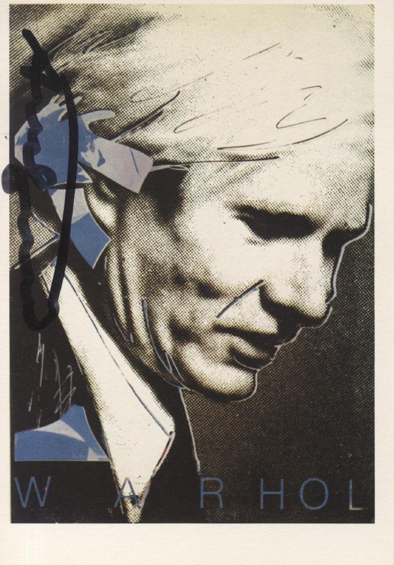 1778: ANDY WARHOL - Portrait of Andy Warhol