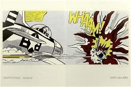 ROY LICHTENSTEIN - Whaam! - Original color offset