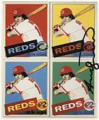 ANDY WARHOL - Pete Rose - Color offset lithograph