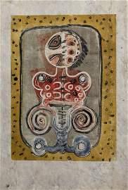 KARIMA MUYAES - Ovarian Queen - Color Monoprint