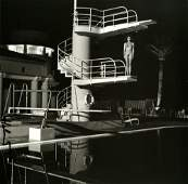 HELMUT NEWTON - Diving Tower, Old Beach Hotel -