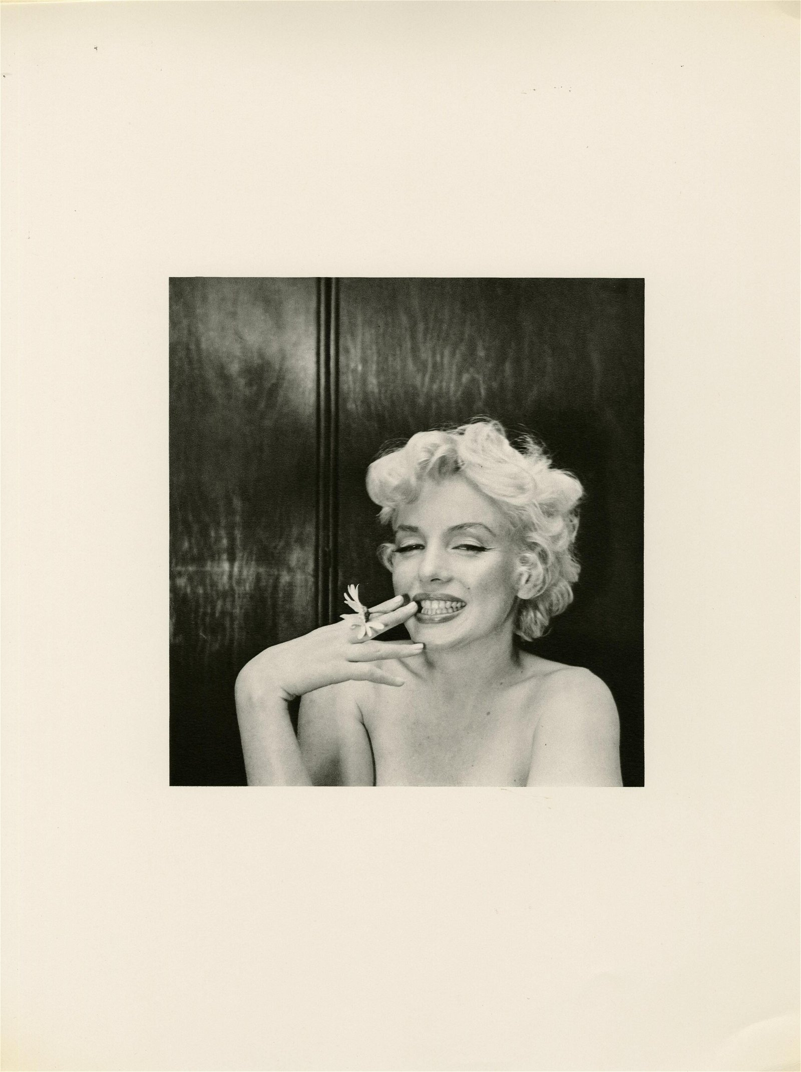 CECIL BEATON - Marilyn Monroe 1956 #1 - Original