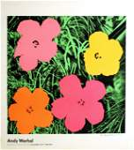 ANDY WARHOL - Flowers - Color offset lithograph