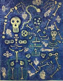 KARIMA MUYAES - Dance to Life - Acrylic on canvas
