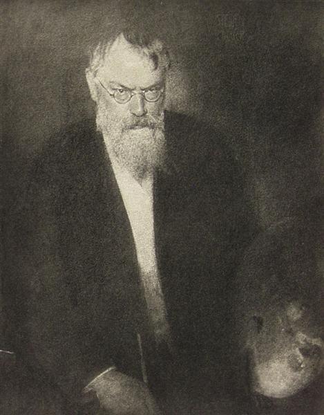 1032: EDWARD STEICHEN (American) Vintage photogravure