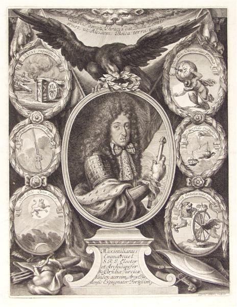22: GABRIEL EHINGER (German) Engraving