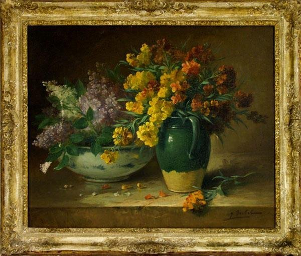 93: AMERICAN SCHOOL [19TH CENTURY] Oil on canvas