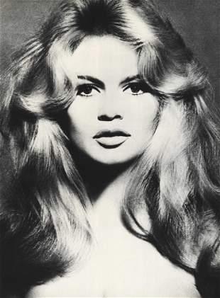 RICHARD AVEDON - Brigitte Bardot, Hair by Alexandre,