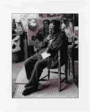 ENRIQUE SEGARRA LOPEZ - Diego Rivera en estudio de San