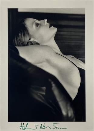 HELMUT NEWTON - Jodie Foster, Hollywood - Original