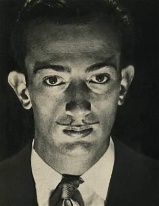 MAN RAY - Salvador Dali - Original vintage photogravure