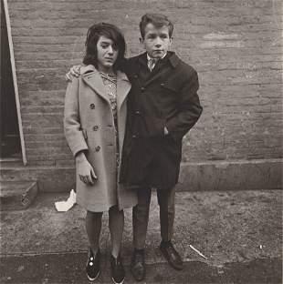 DIANE ARBUS - Teenage Couple on Hudson Street, N.Y.C -