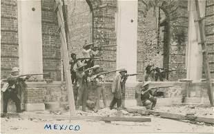 WALTER H. HORNE - The Battle of Juarez - Vintage