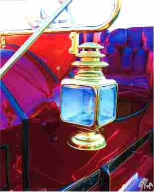 SHARI BRUNTON - Lantern, 1910 Cadillac - Color Digital