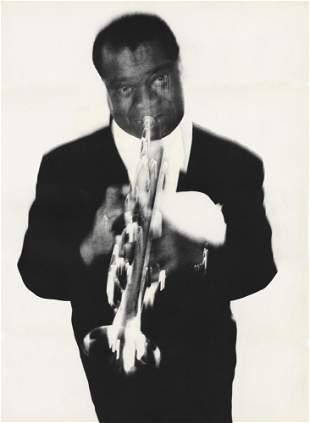 RICHARD AVEDON - Louis Armstrong, Musician, Newport