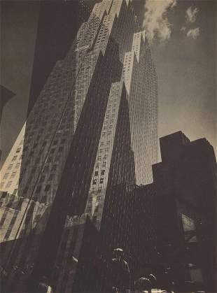 EDWARD STEICHEN - Rockefeller Center, New York City -