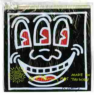 KEITH HARING - Three-Eyed Smiley Face - Color offset