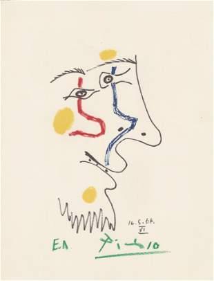 PABLO PICASSO [d'apres] - May 16, 1964 #6 - Original